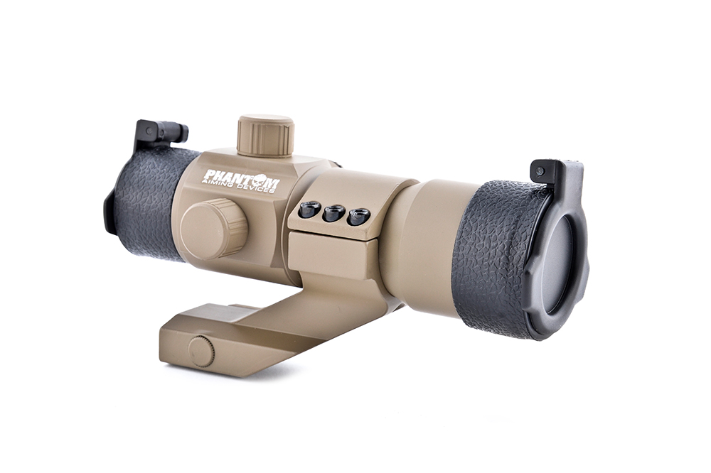 Tactical Red/Green Dot W/Angle Mount (DESERT Color) imagine