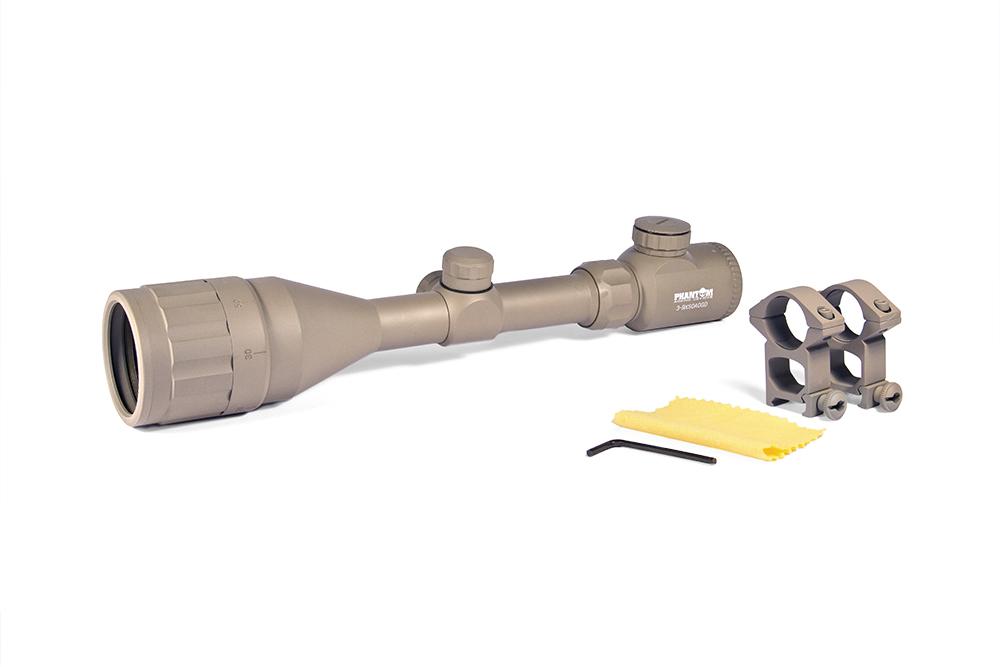 Riflescope 3-9x50 15 Yds-8 Illuminated Reticle (DESERT Color) imagine