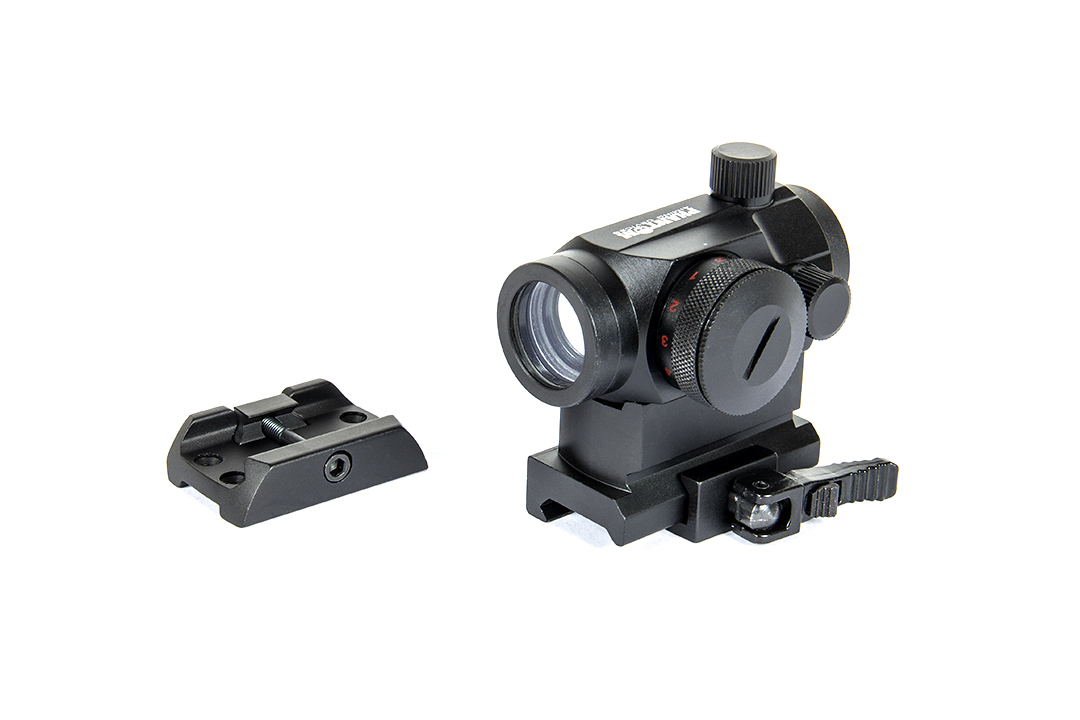 Imagine Phantom Dot Sight  - Red Green W Qd High Mount + Low Black