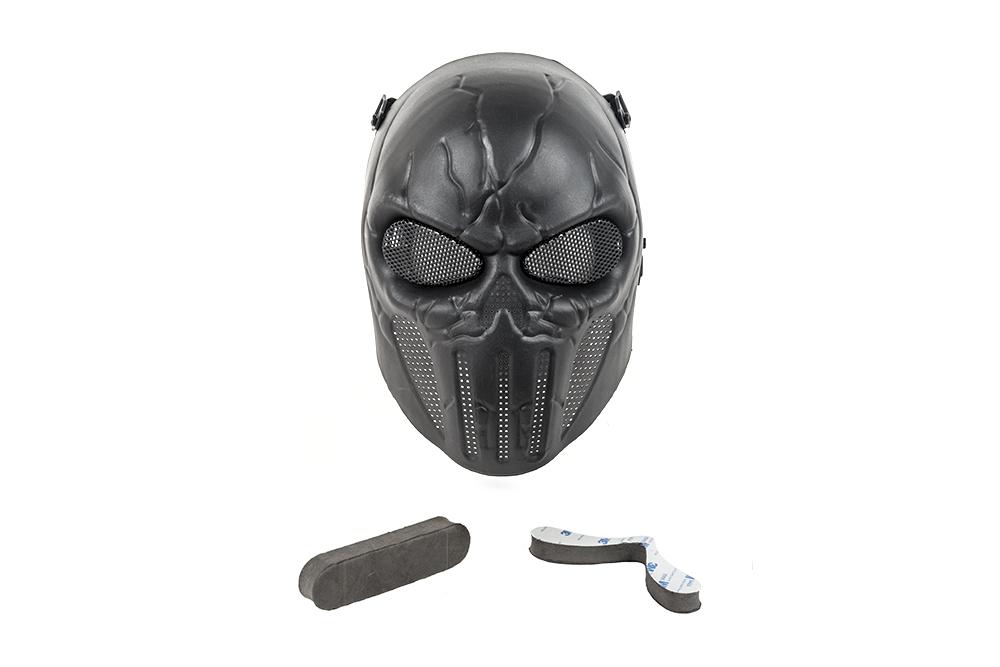 Masca Completa Model Punisher - Black imagine