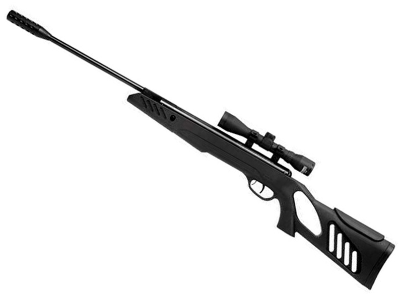 Tac1 Break Barrel - Black - 4.5mm - Plus Luneta 4x32 imagine