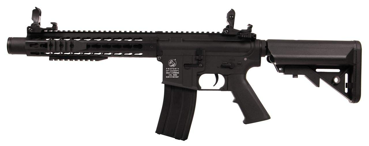 Imagine Cyber Gun Colt M4  - Keymod Silencer Black Full Metal