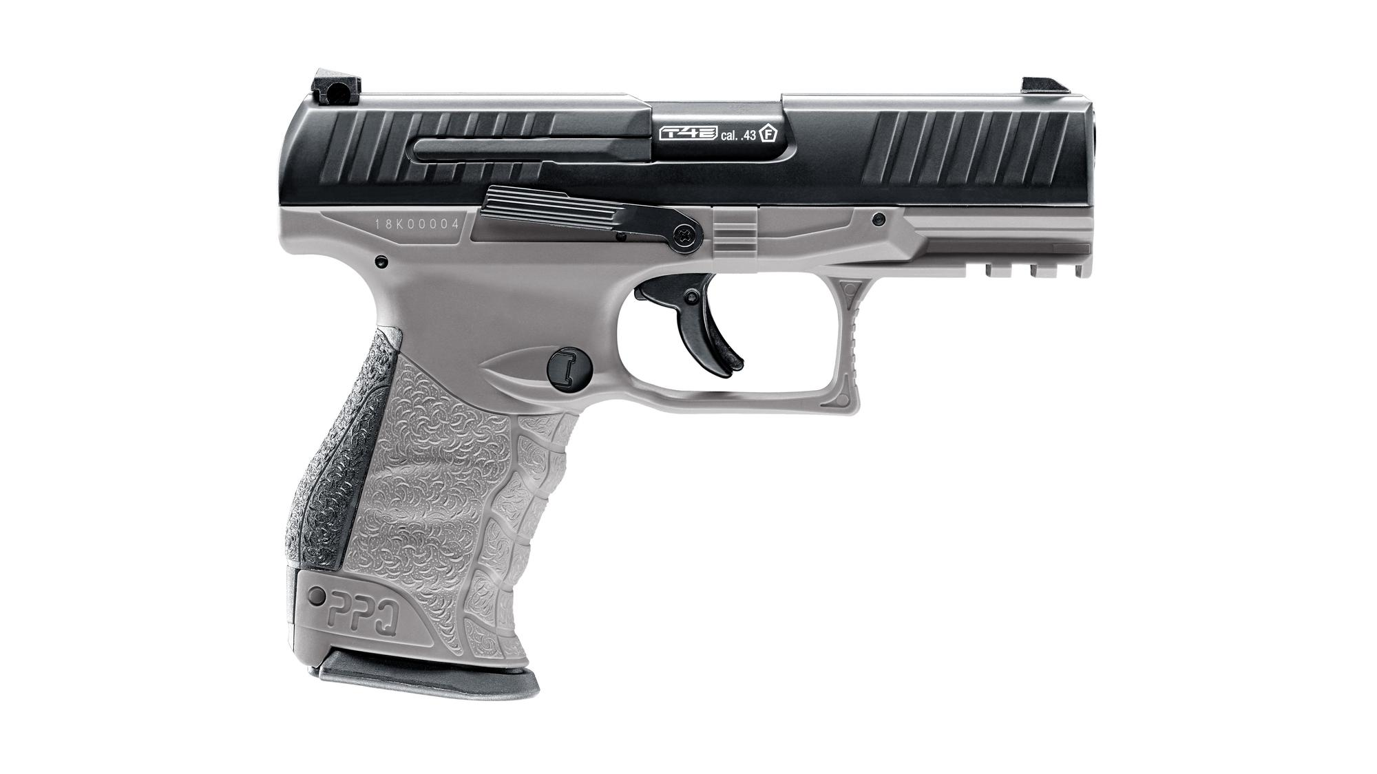 Imagine 1150.0 lei, UMAREX Walther Ppq M2 T4e, Cal.43, Co2, Tungsten Gray