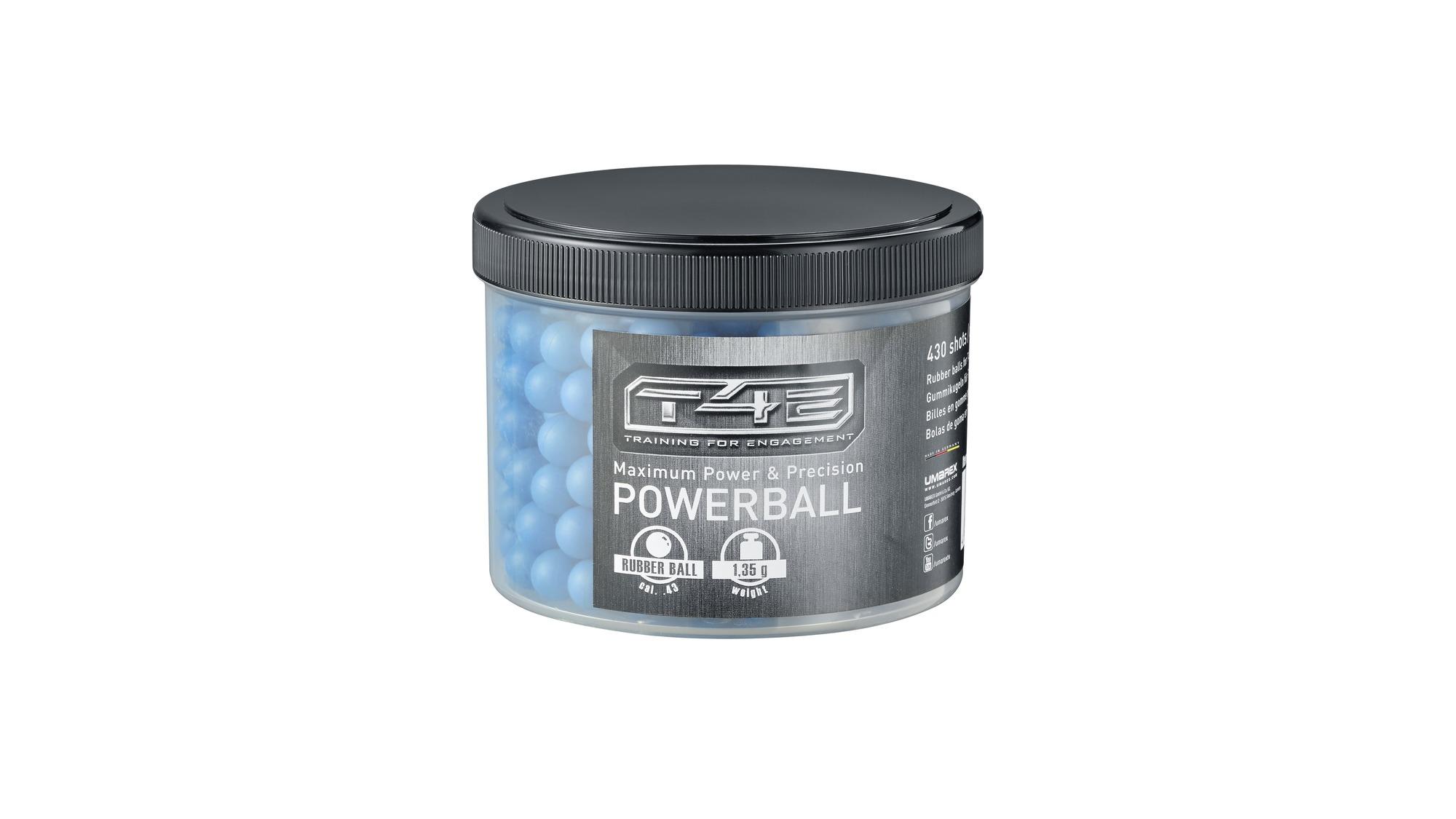 Bile Powerballs - Cauciuc - Cal.43 - 430 Buc. imagine