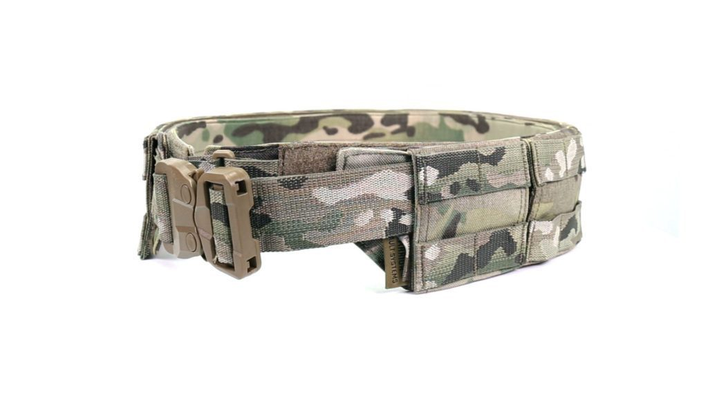 Imagine 595.0 lei, WARRIOR ASSAULT SYSTEMS Low Profile Molle Belt, Multicam, With Plastic Cobra
