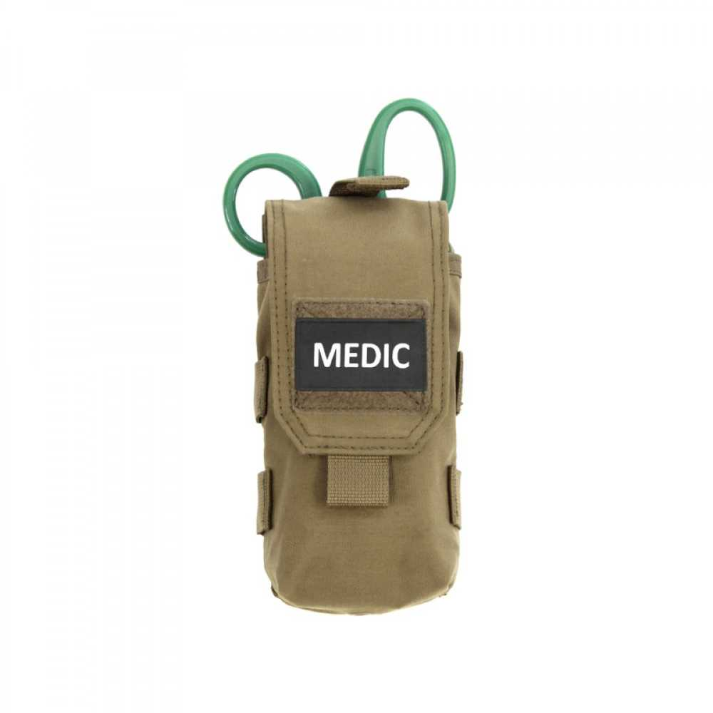 POUCH PENTRU KIT MEDICAL - COYOTE TAN